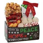 Holiday Snack Caddy - Personalization Available