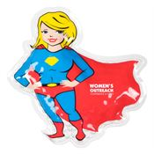 Super Heroine Hot/Cold Pack - Personalization Available