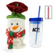 Holiday Wave Tumbler - Personalization Available