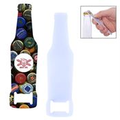 Full-Color Bottle-Shaped Bottle Opener - Personalization Available