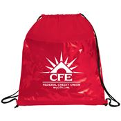 Clear Drawstring Sportspack - Personalization Available