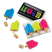 Ice Pop 3-Piece Highlighter Set In Clear Box - Personalization Available