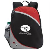 Smooth Zippered Backpack - Personalization Available