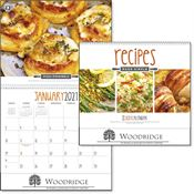 Recipes Made Simple - Deluxe Appointment Calendar - Spiral - Personalization Available