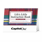 Life's Little Instruction Book 2019 Desk Calendar - Personalization Available