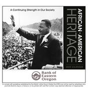 African American Heritage: Dr. Martin Luther King Jr. 2019 Appointment Calendar - Stapled - Personalization Available