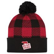 Northwoods Pom Beanie With Cuff - Personalization Available