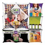 Deluxe GeoMetrix 9-Quad Classic Display Kit - Full-Color Dye Sublimation Personalization Available
