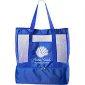 Nautical Insulated Beach Bag - Personalization Available