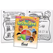 Eat Healthy With MyPlate Parent-Child Activities Book - Personalization Available