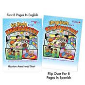 Get Ready For Kindergarten Bilingual Parent-Child Learning Activities Book - Personalization Available