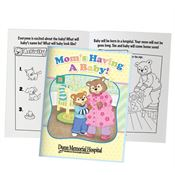 Mom's Having A Baby Parent-Child Learning Activities Book - Personalization Available