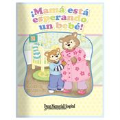 Mom's Having A Baby! Parent-Child Learning Activities Book (Spanish) - Personalization Available