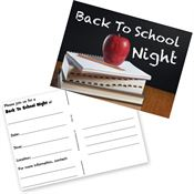 Back To School Night Postcards