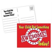 Your Child Did Something Awesome Today! Postcard