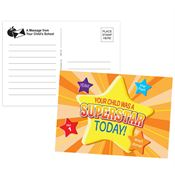 Your Child Was A Superstar Today! Postcard