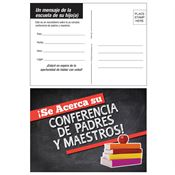Parent Teacher Conference Reminder Postcard (Spanish Version)