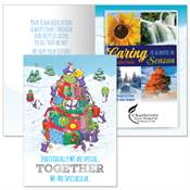 Individually We Are Special, Together We Are Spectacular Greeting Card With 2019 Caring Is Always In Season Planner