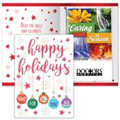 Happy Holidays Thanks For All You Do Greeting Card With 2019 Caring Is Always In Season Planner