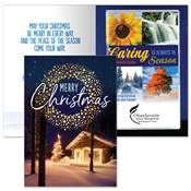Merry Christmas Greeting Card With 2020 Caring Is Always In Season Planner - Personalization Available