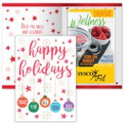 Happy Holidays Thanks For All You Do Greeting Card With 2019 Everyday Wellness Planner