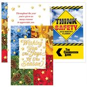 Wishing You The Joys Of The Season Greeting Card With 2019 Think Safety Planner
