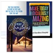 Merry Christmas Greeting Card With 2020 Make Today Ridiculously Amazing Planner - Personalization Available