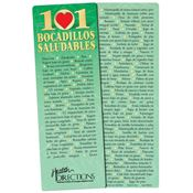 101 Healthy Snacks Bookmark (Spanish) - Personalization Available