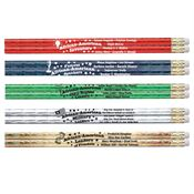 African-American Leaders Sparkle Foil Pencil Assortment Pack