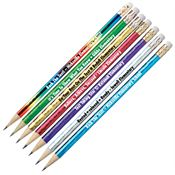 #2 Standard Sparkle Design Prism Pencil - Personalization Available