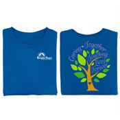 Caring Together, Touching Lives Forever 2-Sided T-Shirt With Personalization