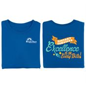 Dietary Services: Excellence in Every Bite Positive 2-Sided T-Shirt - Personalized