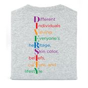 Diversity Positive 2-Sided T-Shirt - Personalized