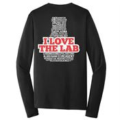 I Love The Lab 2-Sided Long-Sleeve T-Shirt - Personalized