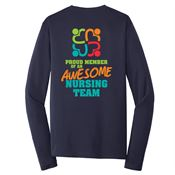 Proud Member Of An Awesome Team Long Sleeve T-Shirt