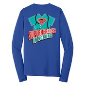 Superheroes In Scrubs Long-Sleeve T-Shirt