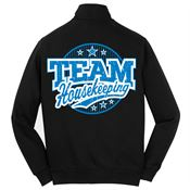 Team Housekeeping: 2-Sided Full-Zip Jacket - Personalized