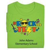 #RockTheTest Adult T-Shirt With Personalization