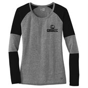New Era® Ladies Tri-Blend Performance Baseball Tee - Personalization Available
