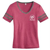 Women's Alternative® Varsity Vintage Tee - Personalization Available