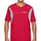 Team 365® Men's Short-Sleeve Athletic V-Neck Tournament Jersey - Personalization Available
