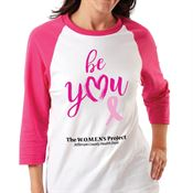 Be You Gildan® Heavy Cotton 3/4 Raglan Sleeve Baseball T-Shirt - Personalization Available