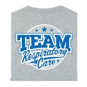 Team Respiratory Care 2-Sided T-Shirt- Personalization Available