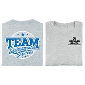Team Environmental Services Positive 2-Sided T-Shirt - Personalized