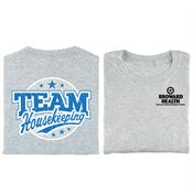 Team Housekeeping Positive 2-Sided T-Shirt - Personalized