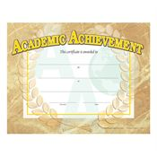 Academic Achievement Gold Foil-Stamped Certificates
