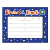 Student Of The Month Gold Foil-Stamped Certificate