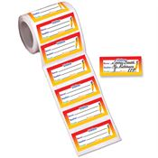 Visitor Stickers-On-A-Roll