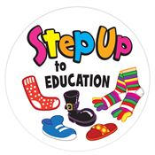 Step Up To Education Stickers-On-A-Roll