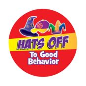 Hats Off To Good Behavior Stickers